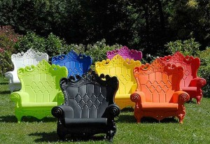 Queen of love throne chairs