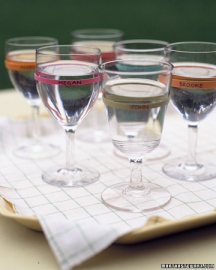 rubber band wine glasses