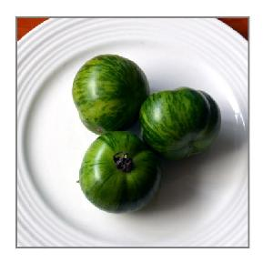 tiger green tomatoes