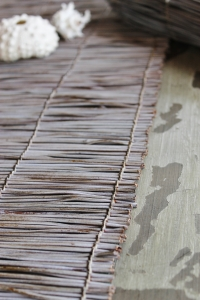Coastal twig table runner
