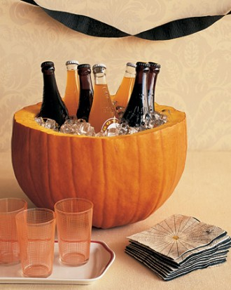 pumpkin drinks cooler