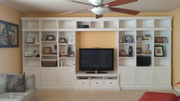 Built in Hemnes Unit