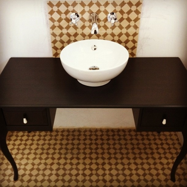 Ikea Table Hack Bathroom Vanity