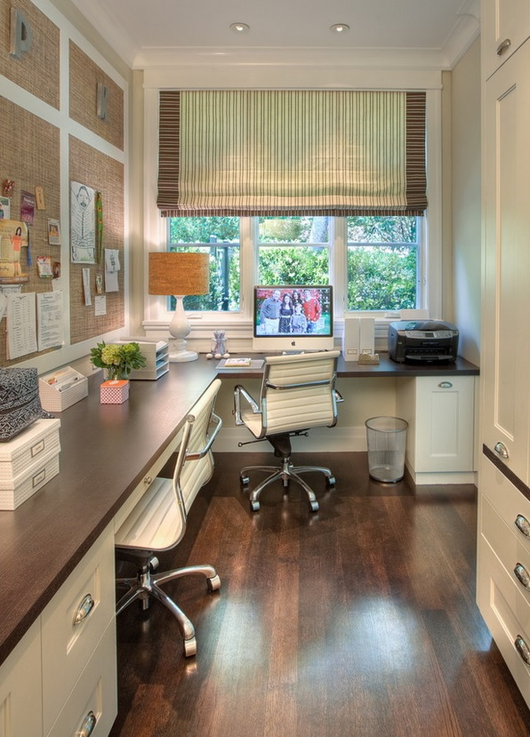 home office traditional by Polsky Perlstein Architects